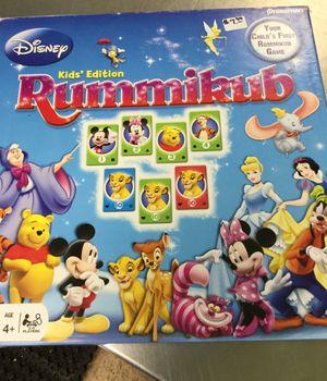 Disney Kids Edition rummikub Game for Sale in Matawan, NJ