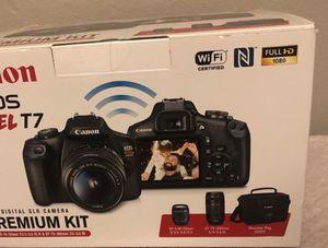 Canon EOS REBEL T7 Digital SLR Camera for Sale in Houston, TX