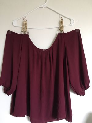 Blouse size L (price firm) for Sale in San Marcos, CA