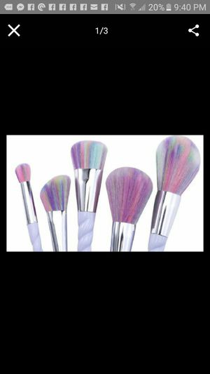 Unicorn 14pc makeup brushes set for Sale in Clarksville, TN
