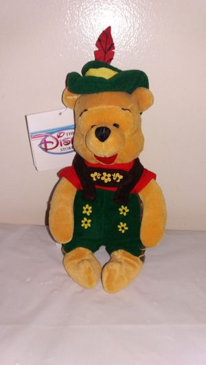 "New Disney Octoberfest Pooh 8"" W/ tag Beanie Baby for Sale in Westmont, IL"