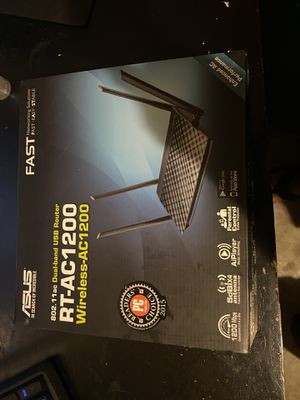 RT-AC1200 Asus Usb Router for Sale in Spring Valley, CA