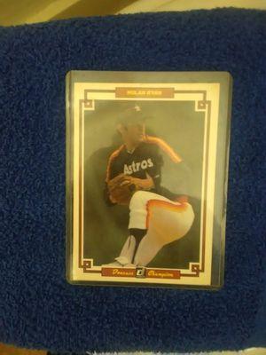 Nolan Ryan collectors card no. 39 for Sale in Tulsa, OK