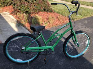 Raleigh Cruiser Bike- and free bike rack for Sale in Hilliard, OH