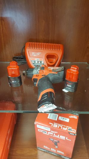 M12 drill battery and charger for Sale in Miami Springs, FL