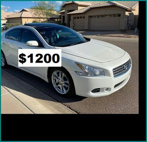 Price$12OO 2OO9 Nissan Maxima for Sale in Fresno, CA