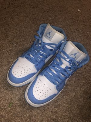 Air Jordan's 1 Mid's UNC for Sale in Knightdale, NC