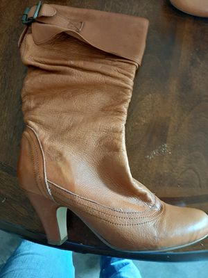 BOOTS 6.5 LEATHER CLEAN NOT USED MUCH for Sale in Peoria, AZ