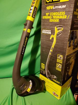 RYOBI CORDLESS 18V EASY EDGE YARD TOOL for Sale in Beaumont, CA