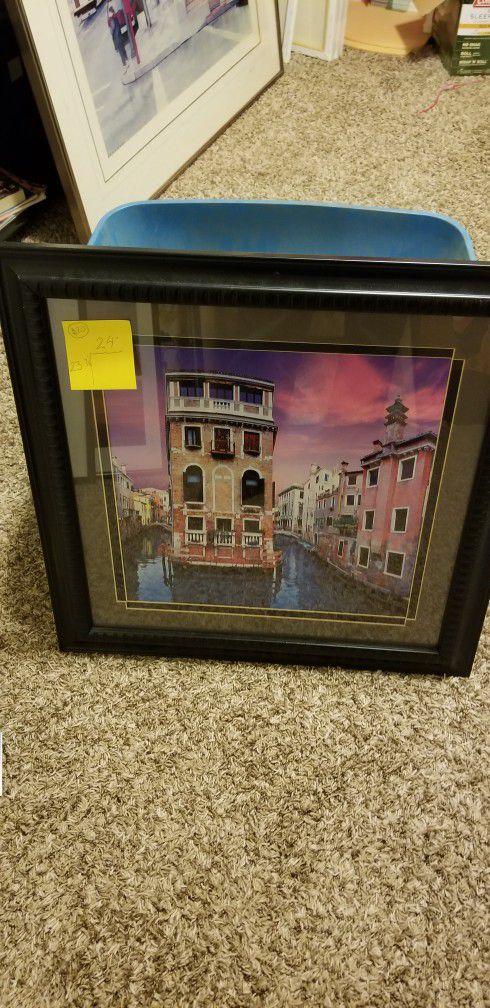 Framed Art For Sale!