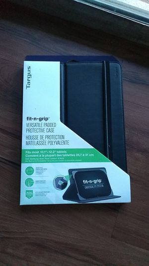 Tablet Case by Targus universal fits 10.12 12.2 for Sale in Sudley Springs, VA