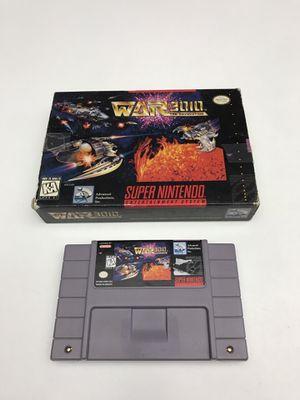 War 3010 Super Nintendo SNES for Sale in Snohomish, WA