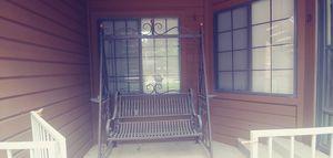 Metal Porch Swing for Sale in Denver, CO