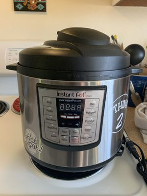 Instant Pot Lux 6 qt. for Sale in Renton, WA
