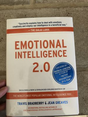 Emotional Intelligence 2.0 Book for Sale in Lubbock, TX