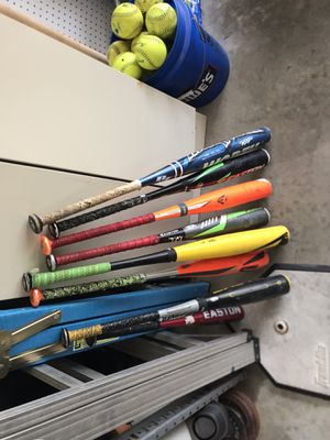 Metal Baseball Bats for Sale for Sale in St. Peters, MO