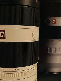 Sony 100-400 F4.5 - 5.6 G MASTER Lens for Sale in Oceanside,  CA