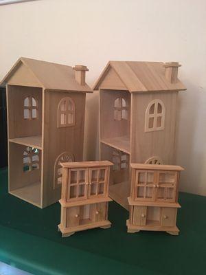 Wooden hand crafts , Decoration antique mini furniture , dolls house for Sale in Richmond, VA
