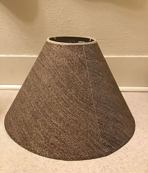 Woven pattern Lamp Shade for Sale in Tacoma, WA