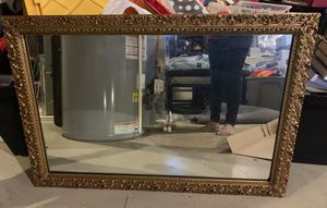 Antique Gold Mirror - heavy for Sale in Galena, OH