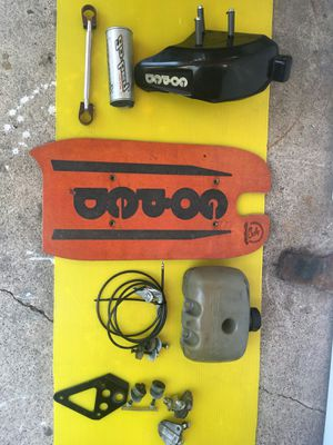 Goped big foot parts in brand new condition goped gsr40 as you can see on picture. Take all $70 for Sale in Garden Grove, CA