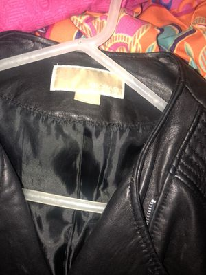 Large Leather Michael Kors Jacket for Sale in St. Louis, MO
