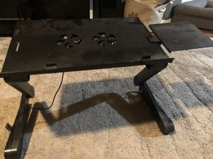 Adjustable laptop table for couch for Sale in Bloomington, IN