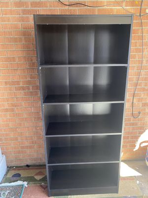 Dark brown bookshelf for Sale in Westminster, CO