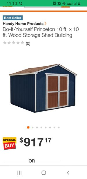 Shed..10x10 New still in box for Sale in New Castle, DE