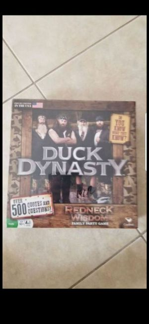 BRAND NEW DUCK DYNASTY GAME! PRICE FIRM! for Sale in Delray Beach, FL