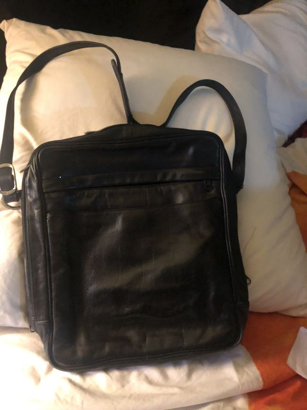 Leather Office carrier portafolios $15