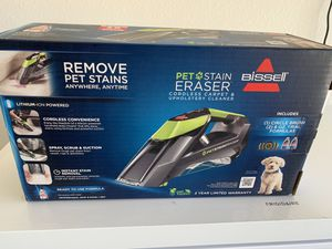 Bissell pet stain eraser....brand new in box for Sale in Gulf Breeze, FL