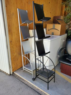Stainless Steel Magazines Rack/ Book Rack for Sale in Fresno, CA