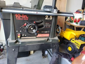 Craftsman 10 inch Table saw for Sale in Goodyear, AZ