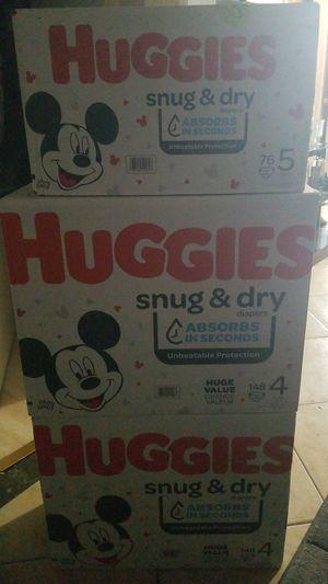 Huggies diapers for Sale in Corona, CA