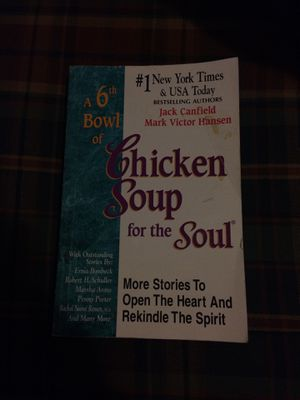 A 6th Bowl of Chicken Soup for the Soul for Sale in Canton, KS