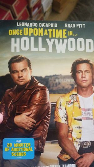 DVD ONE UPON A TIME IN HOLLYWOOD for Sale in San Jose, CA