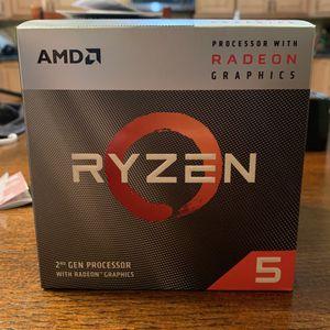 AMD ryzen 5 3400g With Radeon Vega 11 Graphics for Sale in Ocoee, FL