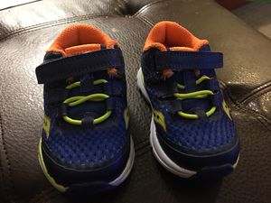 Saucony toddler shoes size 4.5c for Sale in East Wenatchee, WA