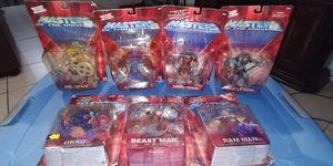 MASTERS OF THE UNIVERSE HE-MAN ACTION FIGURE COLLECTION..7 PCS $100 FIRM!!! for Sale in Kendale Lakes, FL
