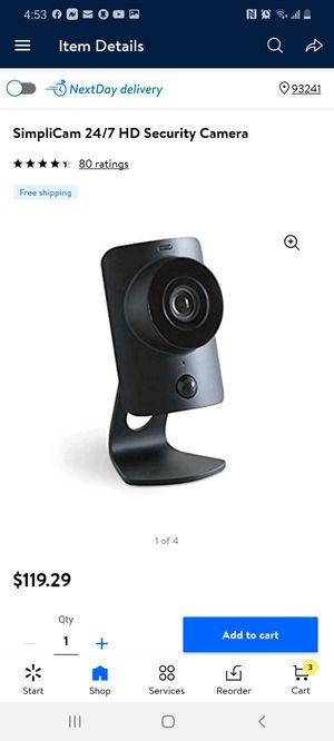 Simplisafe HD Secutity Camera Simplicam for Sale in Bakersfield, CA