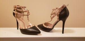 Studded heel (black) for Sale in Bethesda, MD