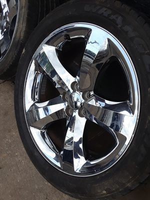 """Dodge, Charger and magnum 20"""" chrome rim for only $650 for Sale in Washington, DC"""