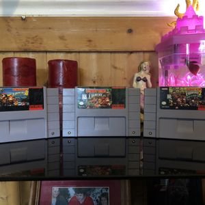 Donkey Kong Country Triligy SNES No Box for Sale in Fairmount, GA