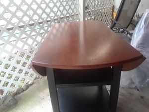 "Bar height table (""fold down table"") for Sale in Tacoma, WA"