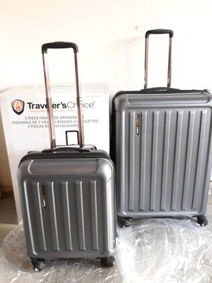 9ff69ded4 Traveler's Choice Hardside Luggage Set SUPER PRICE for Sale in Plano, ...