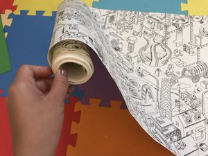 Roll of coloring paper for Sale in Ontario, CA