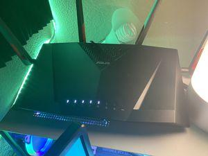 Asus Wifi AC 3100 RT-AC88U for Sale in Sacramento, CA