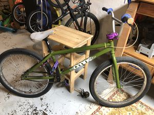 "20"" rim Big Bmx bike. Bike frame is a Goods Sunday Cruiser. for Sale in Portland, OR"