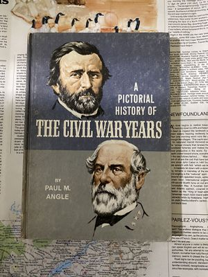 A Pictorial History of The Civil War Years by Paul M. Angle History Book for Sale in Chula Vista, CA